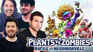 *NUEVO* PLANTAS vs ZOMBIES (Battle for Neighborville) - WILLY ALEXBY FARGAN Y VEGETTA