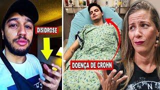 4 Youtubers com doenças incuráveis (Felipe neto e Lucas Lira)