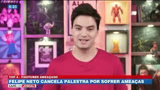 Felipe Neto cancela palestra por sofrer ameaças