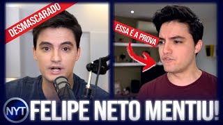 Felipe Neto é DESMASCARADO por YouTubers, ele MENTIU para todos os pais de seus inscritos