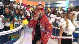 Presentación de Daddy Yankee Dominicano en Pégate y Gana con El Pachá