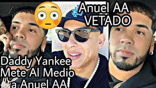 Anuel AA inspirado por Daddy Yankee hace declaraciones y queda vetado!! en los Latin Grammy!