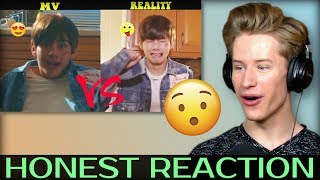 HONEST REACTION to BTS (방탄소년단) MV Vs. REALITY