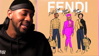 PnB Rock - Fendi feat. Nicki Minaj & Murda Beatz [Official Audio] | REACTION