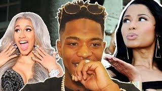 """Niska : """"J'ai mangé des 'vu' par Cardi B et Nicki Minaj"""""""