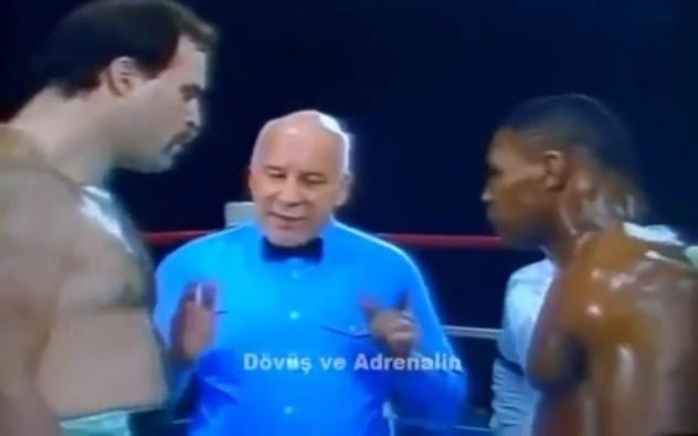 Mike Tyson DEV Rakibini İndirdi / AND Sammy Scaff (1985) Özet - Dövüş ve Adrenalin