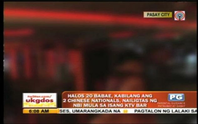 20 women rescued from Pasay KTV bar