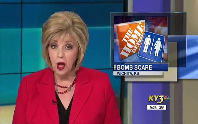Man threatens to blow up a Home Depot