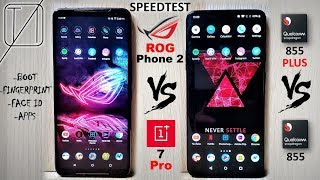 Asus ROG Phone 2 vs OnePlus 7 Pro Speed Test