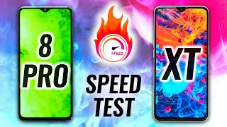 Redmi Note 8 Pro vs Realme XT Speed Test - Not Even Close😱