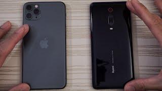 iPhone 11 Pro Max vs Xiaomi Redmi K20 Pro - Speed Test!