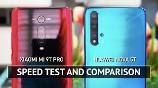 Xiaomi Mi 9T Pro vs Huawei Nova 5T SPEED TEST
