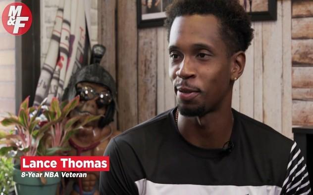 NBA Player Lance Thomas Angling for Another NBA Shot