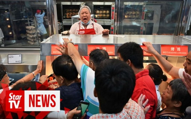 Customer chaos as China's first Costco shop opens