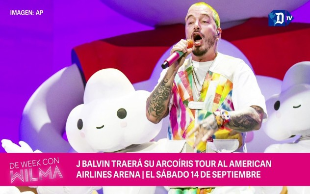 J Balvin trae su Arcoiris Tour al American Airlines Arena de Miami