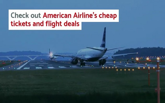Book Cheap Tickets American Airlines and Flight Tickets