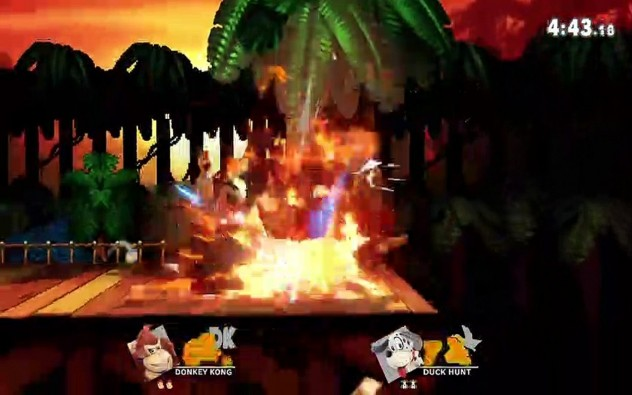 Donkey Kong vs. Duck Hunt