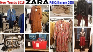 ZARA TRENDING NOW | #NewStyles #NewTrends | ZARA Fall Collection 2019 | #NewInZara2019