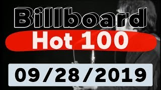 Billboard Hot 100 - Top 100 Songs Of The Week (September 28, 2019)