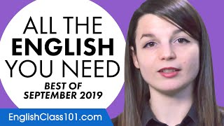 Your Monthly Dose of English - Best of September 2019