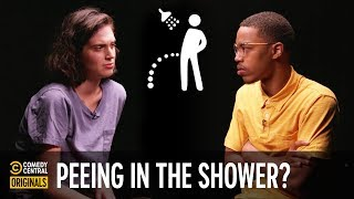 CalebCity Argues That Shower Peeing Is Not OK - Agree to Disagree