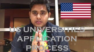 US Universities' Application Process (Undergraduate) | 7 things you need before applying