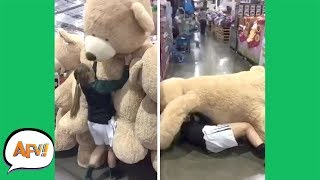 LOL It's TOO BIG For Her! 😂😂 | Funny Videos | AFV 2019