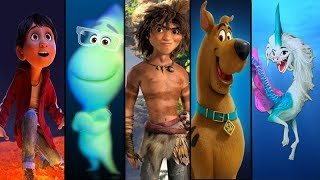 Upcoming Animated Movies 2020 to 2022 | The Croods 2 | Scoob | Soul