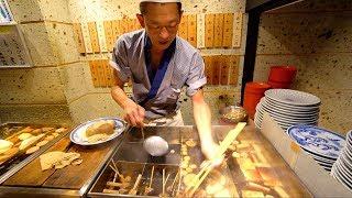 JAPANESE STREET FOOD - Tokyo Street Food Tour | CRAZY Street Food in Japan + BEST Nightlife in TOKYO