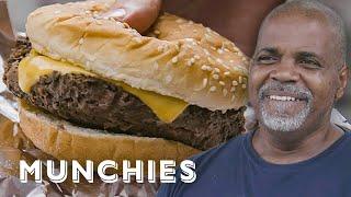 $2 Burgers in Harlem - Street Food Icons