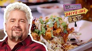 Korean Pork Tacos from #DDD with Guy Fieri | Food Network