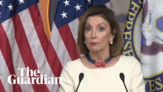 'This is a cover-up': Nancy Pelosi on Trump whistleblower complaint