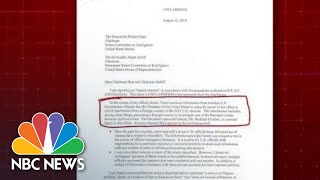 Whistleblower Complaint At Center Of Trump Impeachment Inquiry Released | NBC News