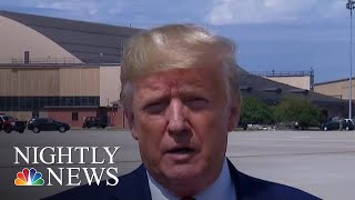 President Donald Trump Hits Back After DNI Hearing, Whistleblower Complaint | NBC Nightly News