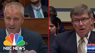 Acting DNI Does Not Deny Discussing Whistleblower Complaint With President Donald Trump | NBC News