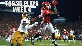 Top 25 Plays From Week 4 Of The 2019 College Football Season ᴴᴰ