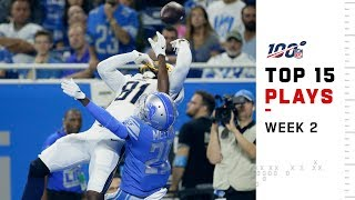 Top 15 Plays from Week 2 | NFL 2019 Highlights