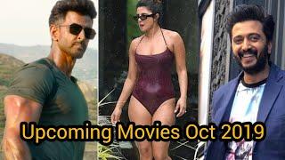 Upcoming Bollywood Movies October 2019  | In Hindi |  Universal Medias  | In Hindi