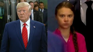 Did President Trump Mock Teen Activist Greta Thunberg?
