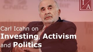 Carl Icahn on Investing, Activism and Politics