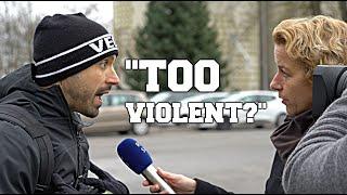 TV PRESENTER CLAIMS VEGAN ACTIVISM IS 'TOO VIOLENT' [Part 1]