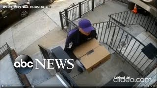 Man posing as FedEx driver allegedly robs family | ABC News