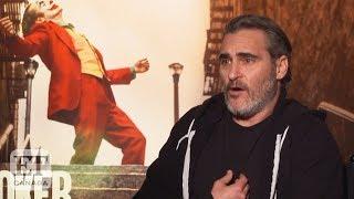 Joaquin Phoenix Responds To 'Joker' Violence Protest