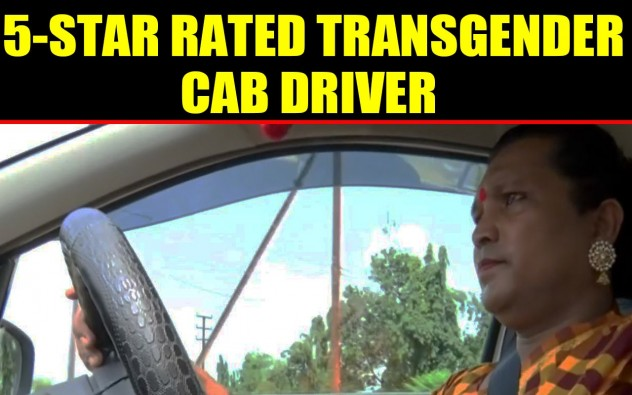 Transgender Rani Kinnar becomes India's First Transgender 5-Star rated cab driver