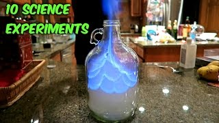 10 Awesome Science Experiments - Compilation