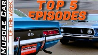 Top 5 Episodes By Play Count - Muscle Car Of The Week Video Episode 326