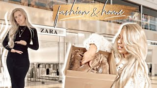 HUGE ZARA HAUL TRY ON OCTOBER 2019 | AUTUMN FASHION AND HOME