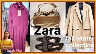 #New in Zara Collection October 2019 | Ladies Fashion | Coats | Bags | Shoes | Dresses