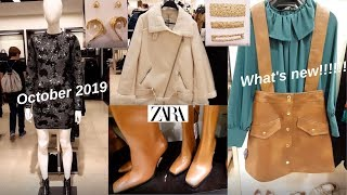 Zara Fall-Winter 2019-2020 Women's Fashion Collection [October 2019]. New!New!!