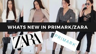 WHATS NEW - PRIMARK ZARA OCTOBER 2019 LOOKBOOK TRY ON FASHION CLOTHING HAUL AUTUMN 2019